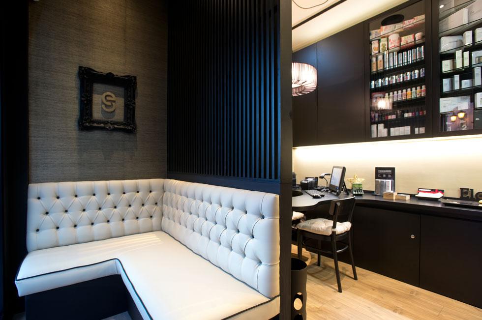 Sala de espera centro estetica oviedo belleza - Imagenes de centros de estetica de lujo ...