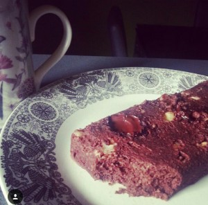Bizcocho de chocolate saludable. Elena Somoano